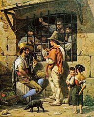 A Prison Scene in Rome