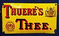 Enamel advert, Thueré's Thee.JPG