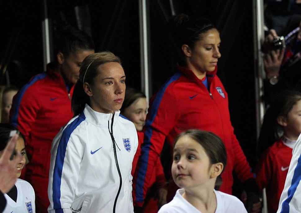 England Women's Vs USA (16367139639)