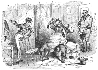 English Caricaturists, 1893 - Dick Swiveller and the Lodger.png