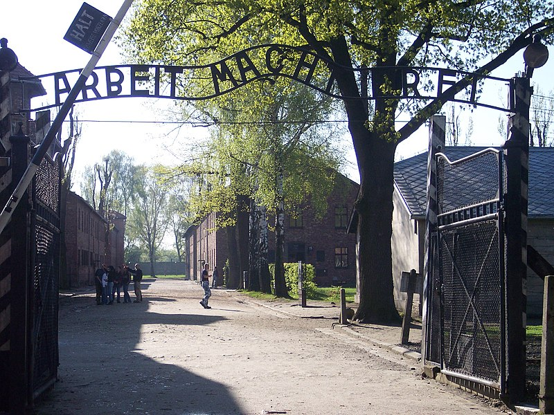 File:Entrance Auschwitz I.jpg