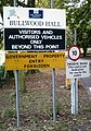 Entrance Sign, HMP Bullwood Hall - geograph.org.uk - 544833.jpg