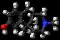 Eptazocine molecule ball.png