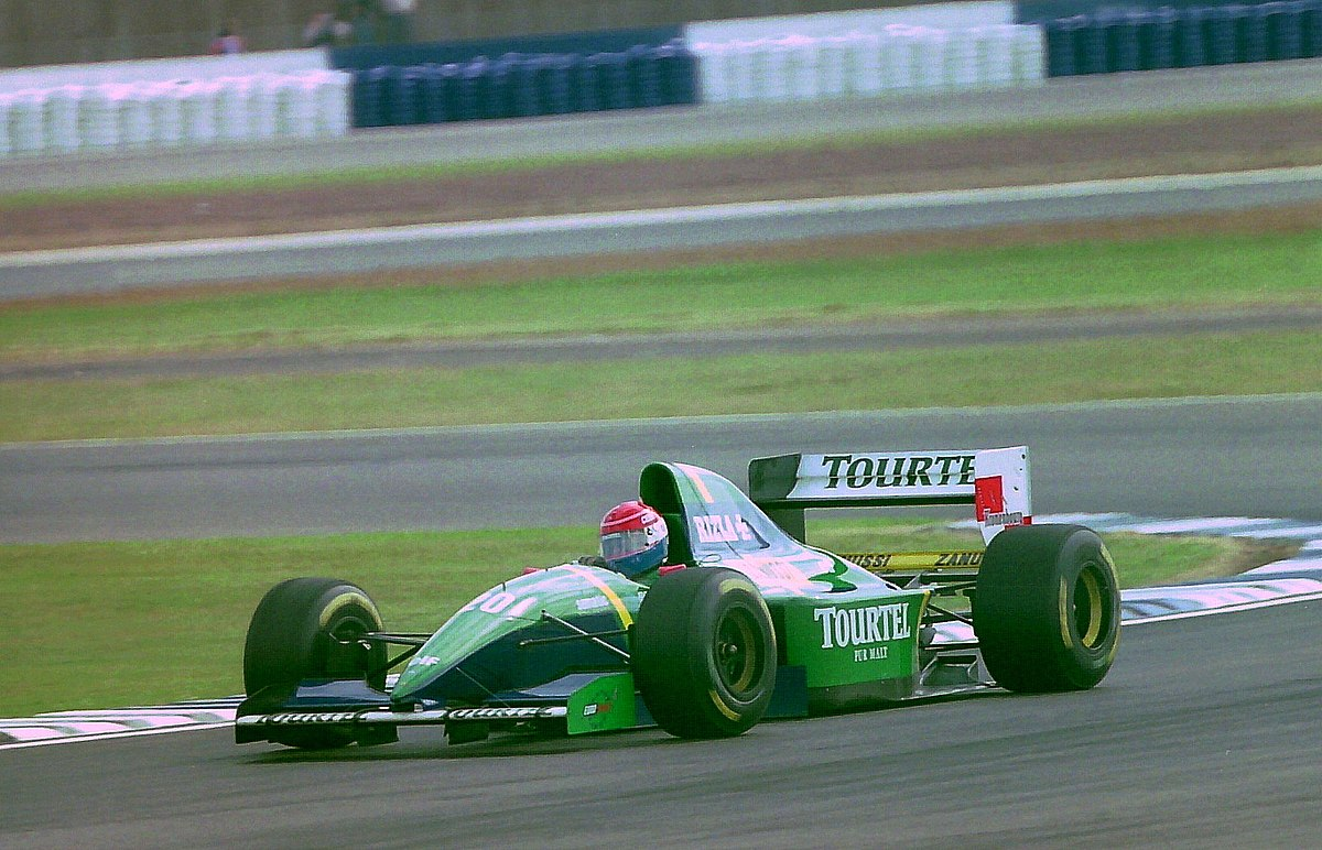 Mid Engine Cars >> Larrousse LH94 - Wikipedia