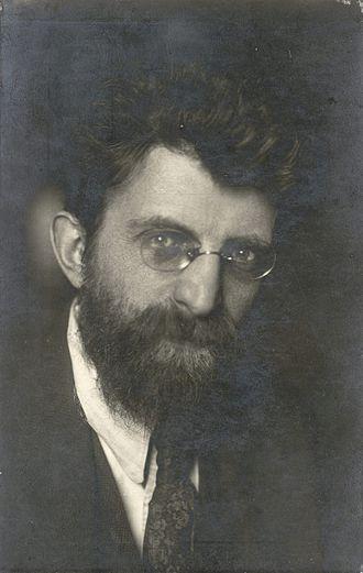 Erich Mühsam - Erich Mühsam, 1924