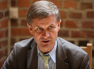 Socialist Left Party (Norway) - Erik Solheim, party leader from 1987–1997, as seen in June 2009