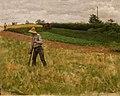 Erik Werenskiold - Landscape with Haymaker - Landskap med slåttekar - IMG 9654asa (cropped).jpg
