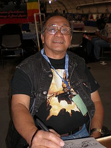 alt=Description de l'image Ernie Chan at Super-Con 2009.JPG.