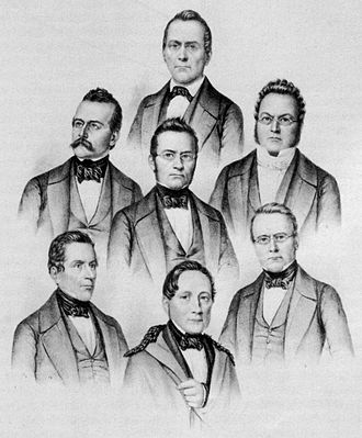 Swiss Federal Council - The first seven members, elected 1848
