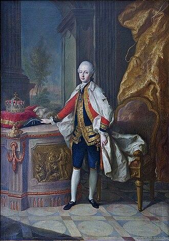 Archduke Maximilian Francis of Austria - Image: Erzherzog Maximilian Franz of Austria
