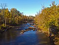 Esopus Creek from Hurley Mountain Road bridge, Lomontville, NY.jpg