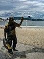 Estátua de Dorival Caymmi, Copacabana, Rio de Janeiro, Brasil.jpg