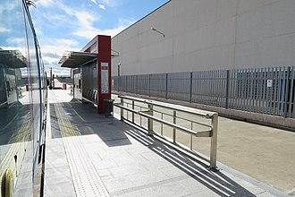 Cocheras (Madrid Metro) - Image: Estación de Cocheras (Metro Ligero de Madrid)