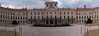 Esterházy - Eszterháza Palace, in Fertőd, Hungary