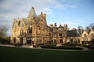 The Haunting (1963 film) - Ettington Park (shown here in 2009) was used for exteriors of haunted Hill House.