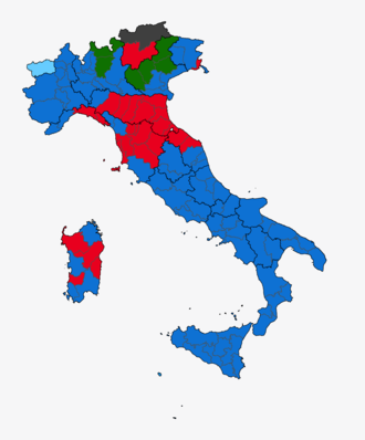 European Parliament election, 2009 (Italy) - Image: European Election 2009 Italy