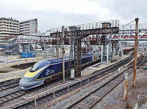 British Rail Class 373 - Image: Eurostar livrée bleue, Chambéry 2016