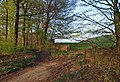 Evening light on a gate into Farmland - geograph.org.uk - 791906.jpg