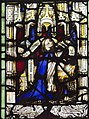 Exeter Cathedral, Stained glass window detail (36671063150).jpg