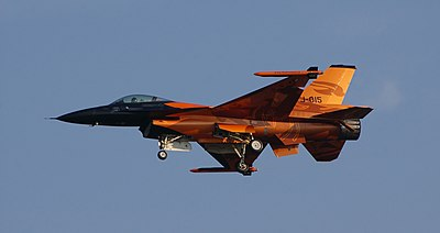 F-16 del Solo Display Team