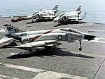 F-4B of VF-114 landing on USS Kitty Hawk (CVA-63) 1968.jpg