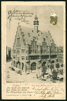Neues Lindener Rathaus Hannover Wikipedia