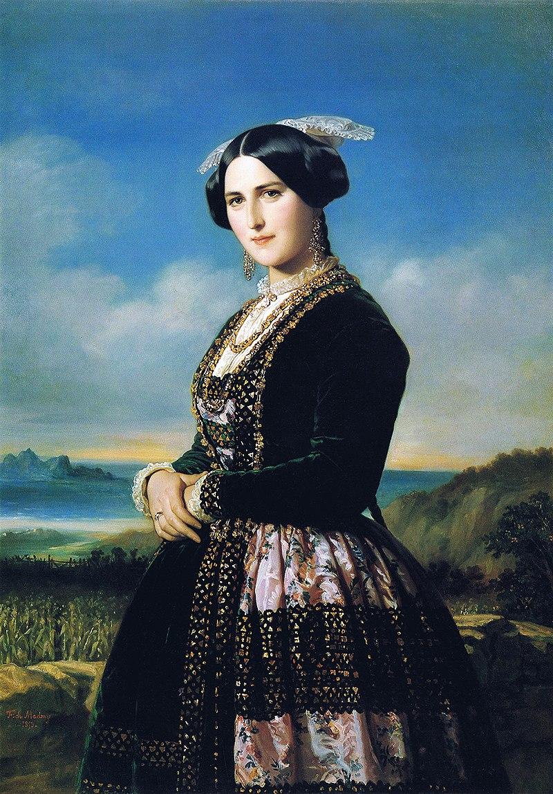 F. de Madrazo - 1853, Agustina Larrañaga (Colección particular, Madrid, 132 x 93 cm).jpg