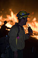 FEMA - 33385 - Northern California fire crew works into the night in California.jpg