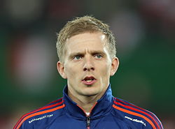 FIFA WC-qualification 2014 - Austria vs Faroe Islands 2013-03-22 - Hjalgrím Elttør 01.jpg