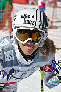 FIS Ski Cross World Cup 2015 - Megève - 20150313 - Ophélie David.jpg