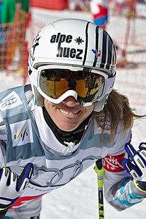 FIS Ski Cross World Cup 2015 - Megève - 20150313 - Ophélie David.jpg