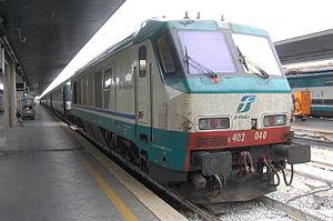 FS Class E.402 - E.402.040 at Venezia Santa Lucia station.