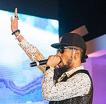 Phyno performing in December 2014