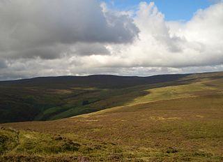 Y Groes Fagl mountain in United Kingdom
