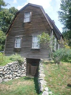 Fairbanks House (Dedham, Massachusetts) - Image: Fairbanks house in Dedham Massachusetts oldest house in America 2