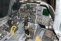 Fairchild Republic A-10A Thunderbolt II cockpit 2 USAF