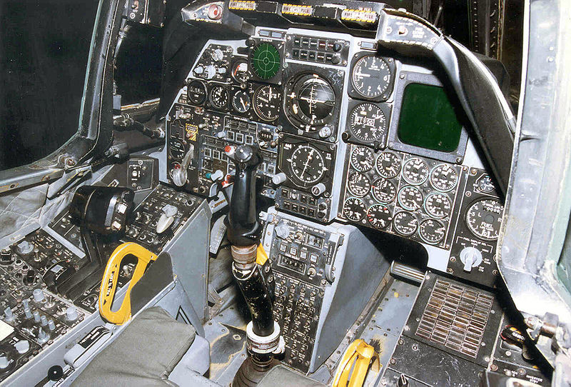 File:Fairchild Republic A-10A Thunderbolt II cockpit 2 USAF.jpg