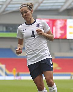 Fara Williams 2014.