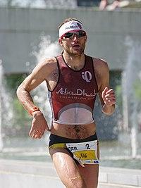 Faris Al-Sultan Ironman 70.3 Austria 2012.jpg