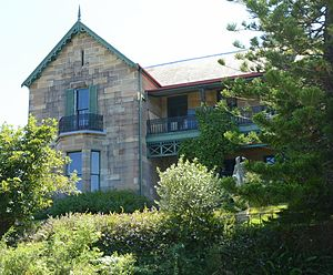 Fred Hollows - Farnham House, the Hollows home in the suburb of Randwick
