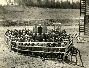 Farragut Naval Training Station - Farragut Naval Training Station, Idaho Class 218, ca. 1943