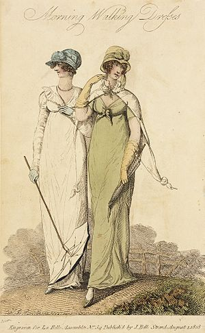 La Belle Assemblée - Image: Fashion Plate (Morning Walking Dresses) LACMA M.86.266.73