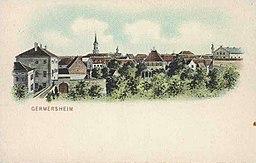 Ansichtskarte von Eugen Felle; Technoseum (Landesmuseum für Technik und Arbeit Mannheim)Motiv: Germersheim