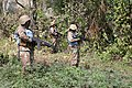 Female combat troops of South African Contingent in MONUSCO on robust foot and moblile patrols 48.jpg