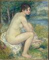 Femme Nue dans un Paysage, by Pierre-Auguste Renoir, from C2RMF.jpg