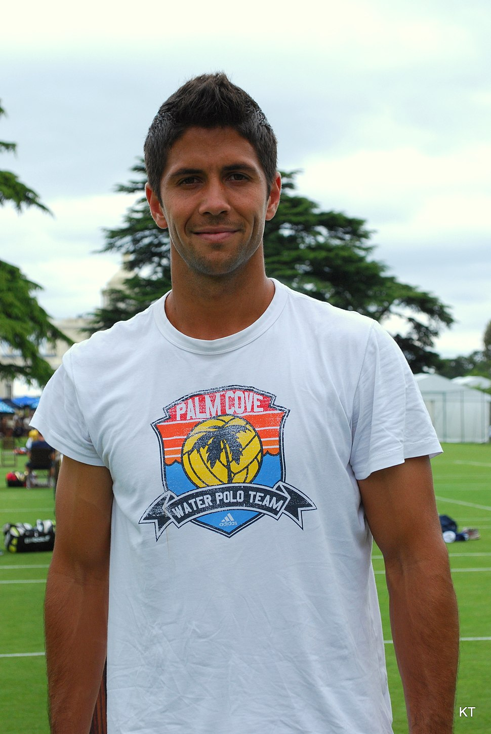 Fernando Verdasco - water polo player