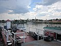 Ferry Szigetmonostor - Szentendre. Danube, north of Budapest. Szigetmonostor side. - panoramio.jpg