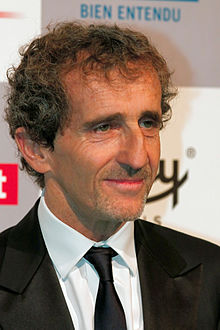 Alain Prost by die 2012 Internasionale Motorfees