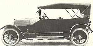 Torpedo (car) - 1912 Fiat Type 3 torpedo