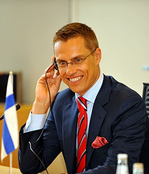 Finnish Minister for European Affairs and Fore...